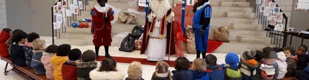 Het bezoek van Sinterklaas